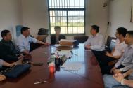 百助CEO程磊赴含山县仙踪镇参加走访调研贫困户活动