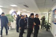 安徽省团省委副书记李波一行莅临百助参观调研