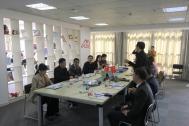 安徽省统计局服务业处副处长张涛一行到访百助