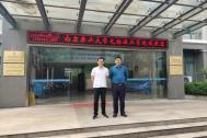 百助CEO程磊应邀到江南大学科技园和南京农业大学无锡渔业学院参观交流