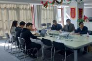 安徽省文化市场发展促进会监事长葛光一行来百助参观考察