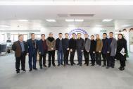 团省委副书记李波率安徽省青年企业家协会考察团来百助考察交流