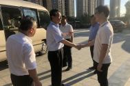 安徽省委常委、常务副省长邓向阳一行莅临百助参观考察