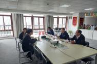 市委常委、组织部部长、统战部部长范奇一行赴百助调研人才工作