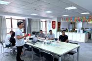 中国公共关系协会副会长、安徽省公共关系协会会长丁海中一行莅临百助考察调研