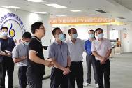 马鞍山市委副书记张泉莅临百助考察调研